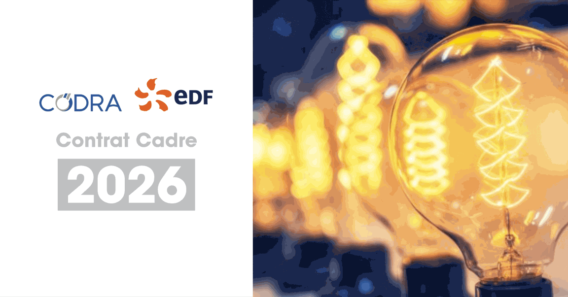 Contrat Cadre EDF - Codra