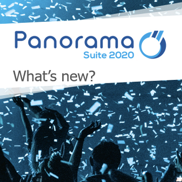 New features Panorama Suite 2020 wbinar video